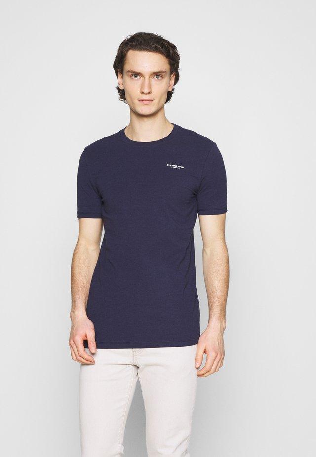 SLIM BASE R T - T-shirt basic - sartho blue