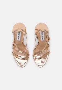 Steve Madden - BRYDGET - Platform sandals - rose gold - 4