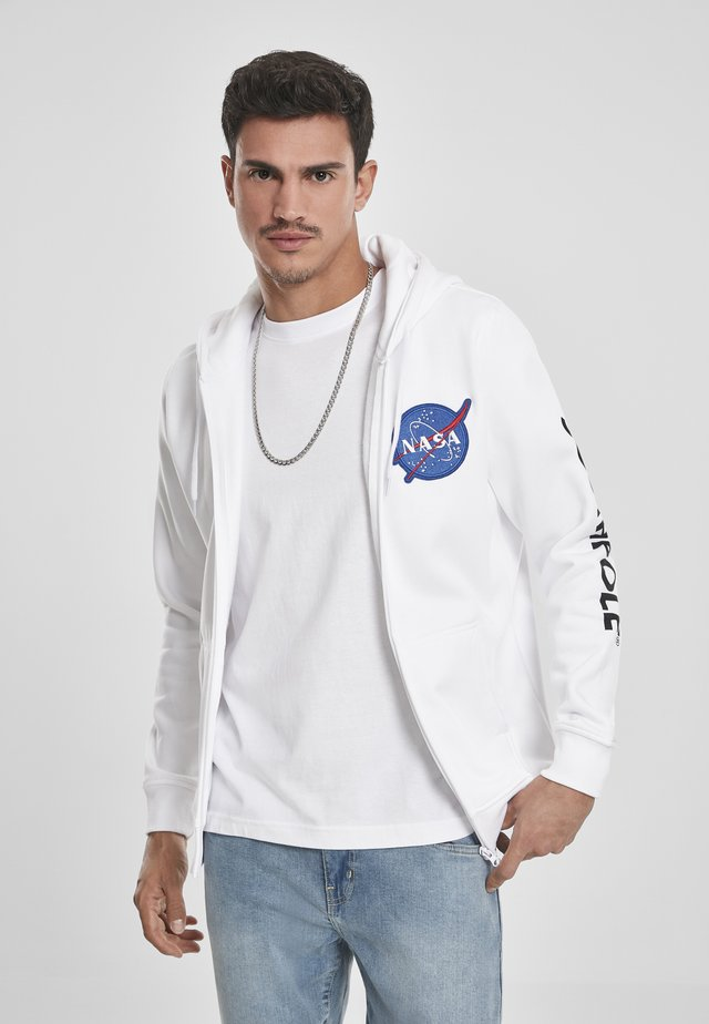 NASA  - Zip-up hoodie - white