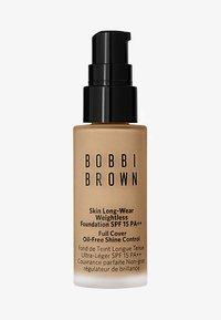 Bobbi Brown - MINI SKIN LONG-WEAR WEIGHTLESS FOUNDATION - Foundation - warm sand - 0