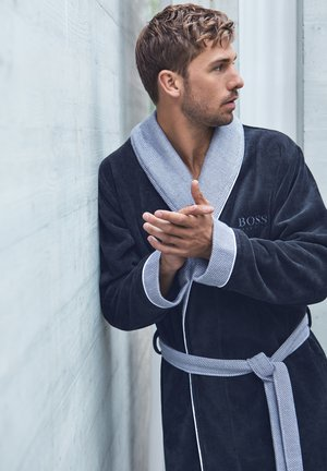 BADEMANTEL - Dressing gown - navy