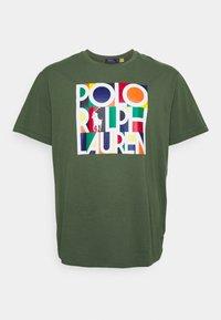 Polo Ralph Lauren Big & Tall - Print T-shirt - olive - 4