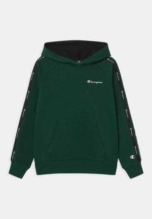 LEGACY AMERICAN TAPE HOODED UNISEX - Bluza z kapturem - dark green