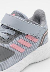 adidas Performance - RUNFALCON 2.0 UNISEX - Neutral running shoes - halo silver/super pop/grey three - 5