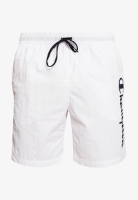 Champion - BEACHSHORT LEGACY - Swimming shorts - white - 2
