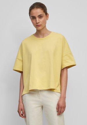 Basic T-shirt - dusty lemon
