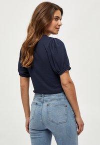 Minus - JOHANNA  - Basic T-shirt - dark blue - 1