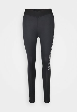 ONPSAV LEGGINGS - Leggings - black/white