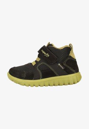 Baby shoes - schwarz/grün