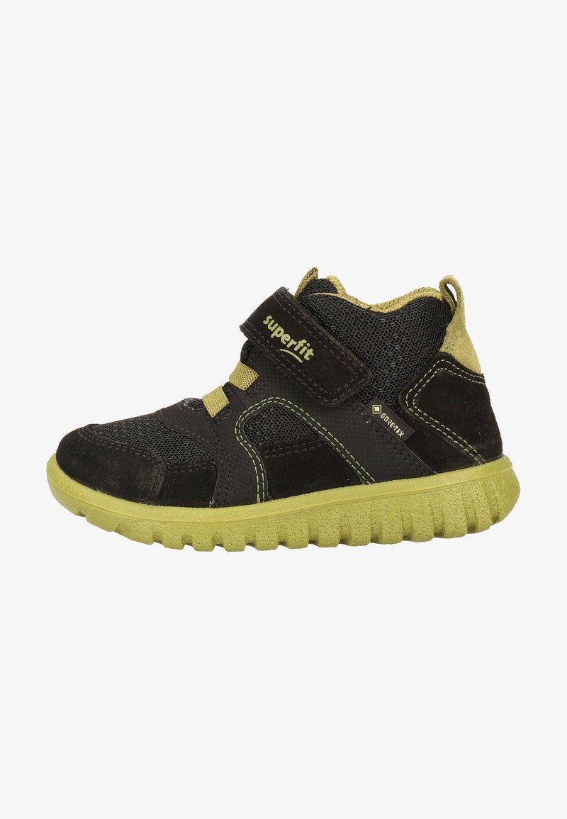 Superfit - Baby shoes - schwarz/grün