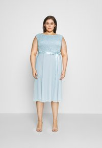 Swing Curve - Cocktail dress / Party dress - blue dust - 0