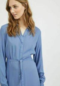 Vila - Shirt dress - colony blue - 4