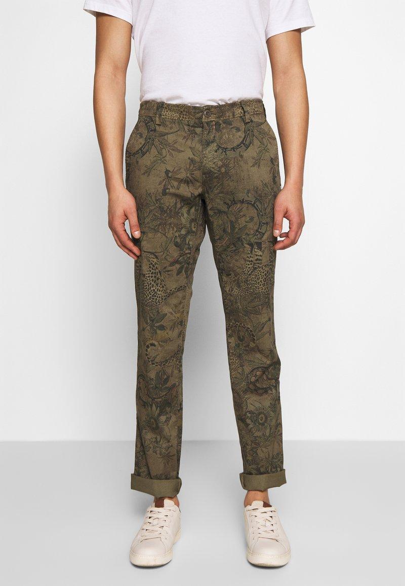 Mason's - Chino kalhoty - green