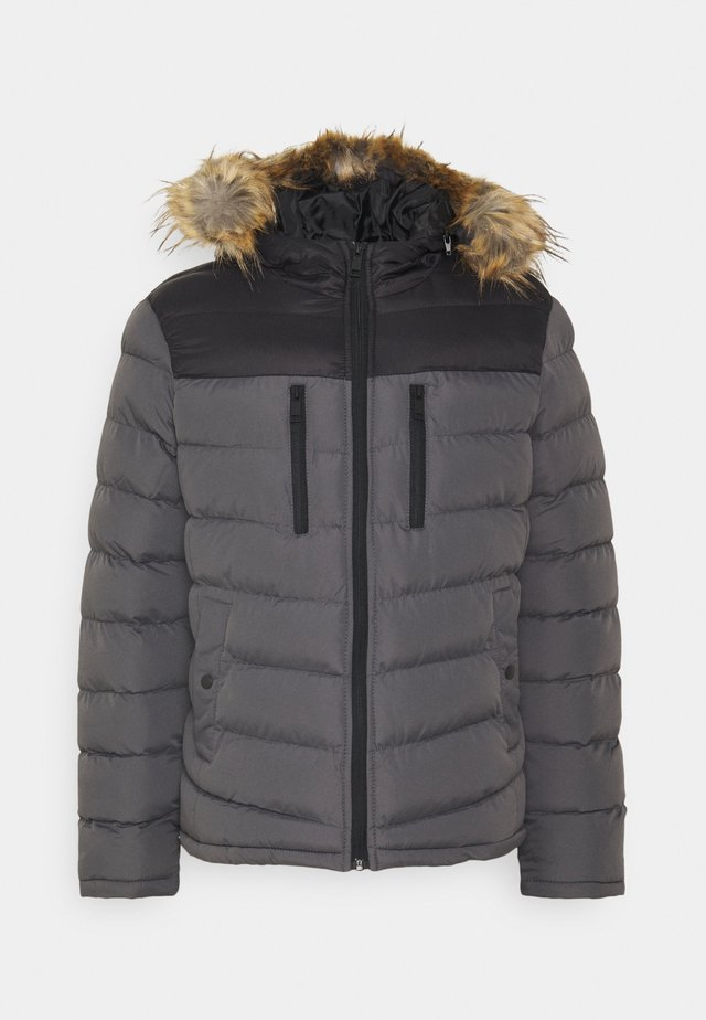 INVERNESS - Giacca invernale - black/grey