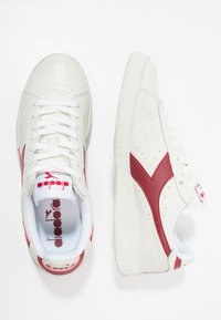 Diadora - GAME WAXED - Trainers - white/red pepper - 1