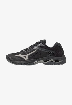 WAVE LIGHTNING Z5 - Volleyball shoes - black/met shadow/dark shadow