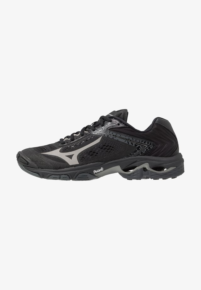 WAVE LIGHTNING Z5 - Scarpe da pallavolo - black/met shadow/dark shadow