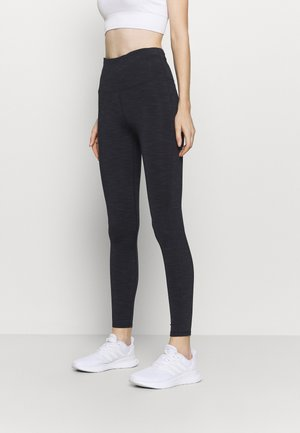 LINED - Leggings - navy