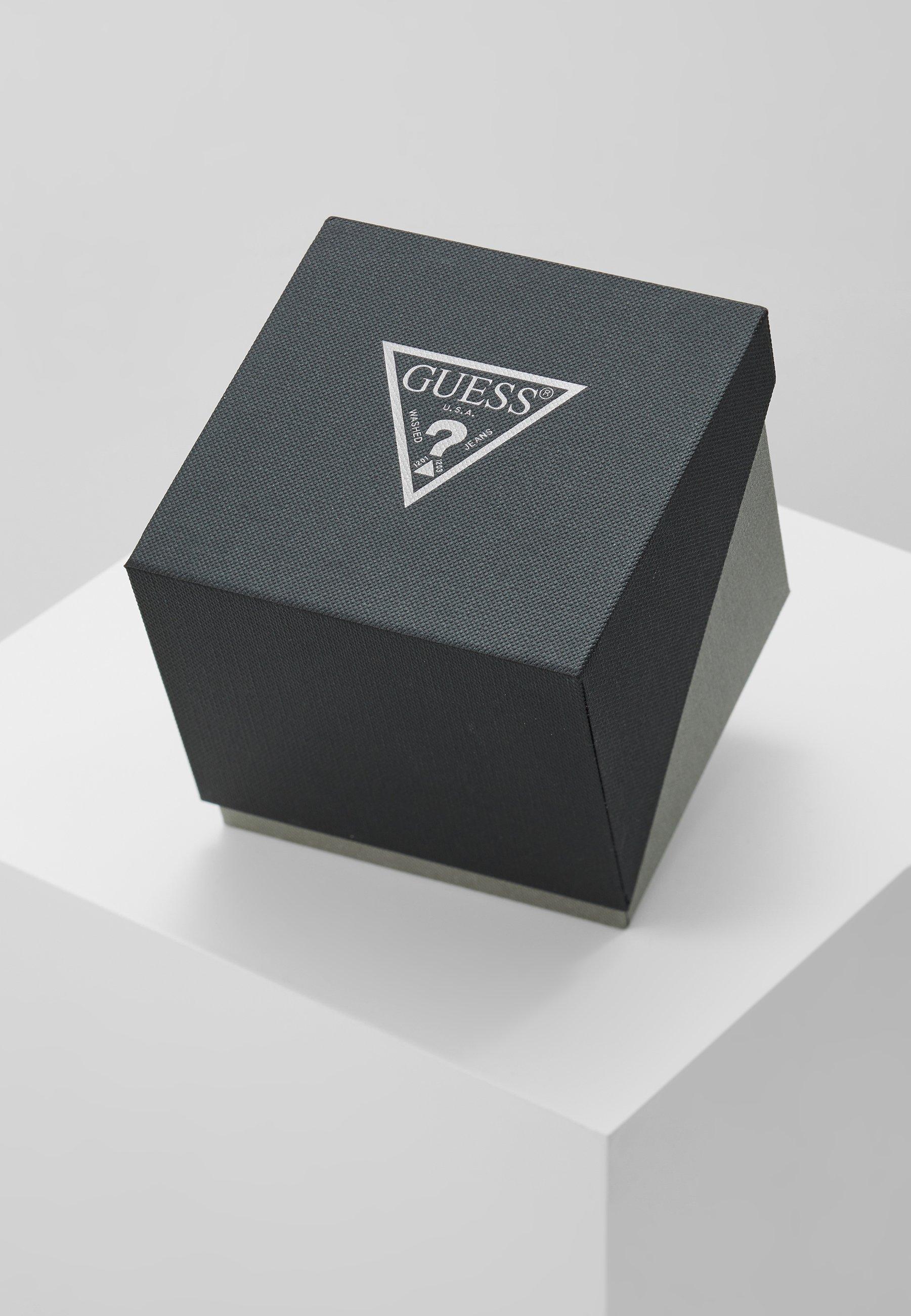 Guess Klokke - black/gold-coloured/svart Amn0bw1nwhegV5Q