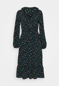 Wallis - DOT DRESS - Korte jurk - green - 0