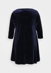 CAPSULE by Simply Be - SWING DRESS - Day dress - navy - 1