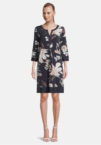 Betty Barclay - Day dress - dark blue-rosé - 0