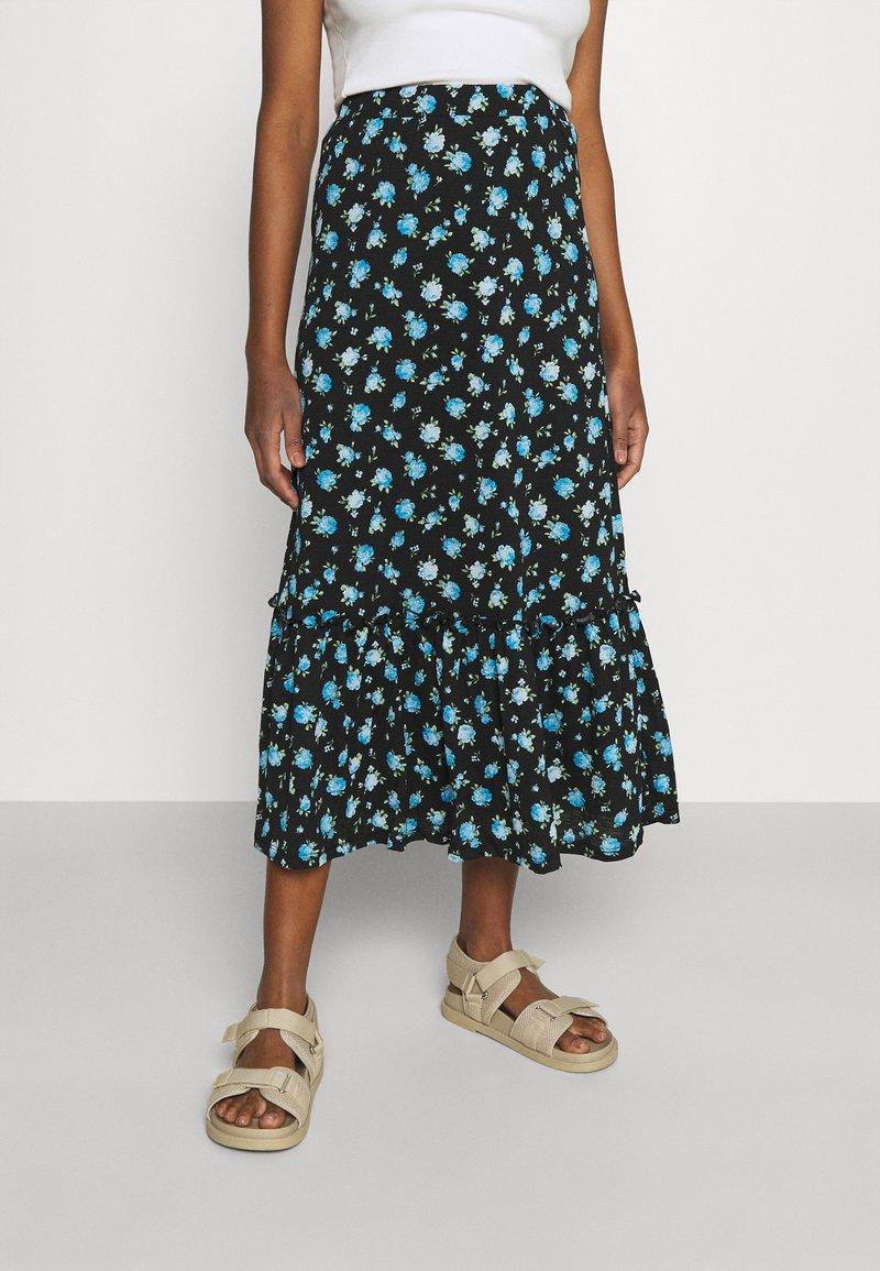 ONLY - ONLPELLA SKIRT - Maxi skirt - black