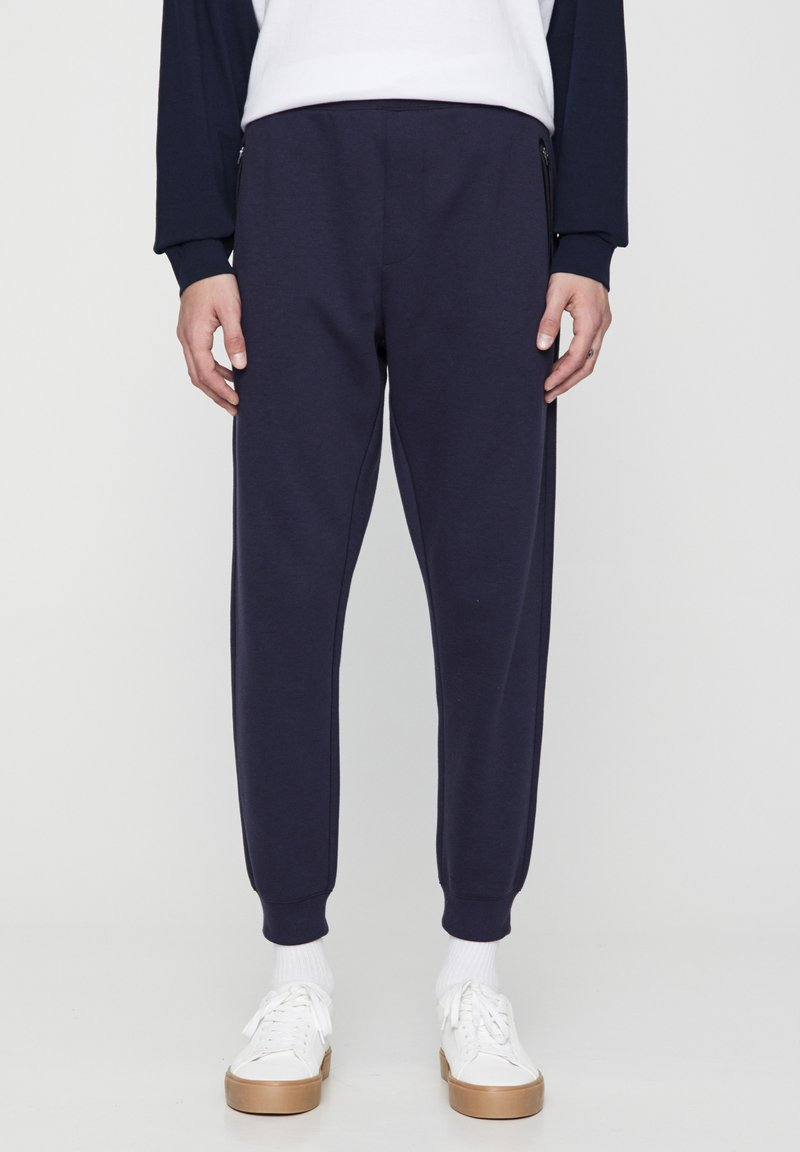 PULL&BEAR - Pantaloni sportivi - dark blue
