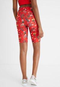 Desigual - Leggings - Trousers - red - 2