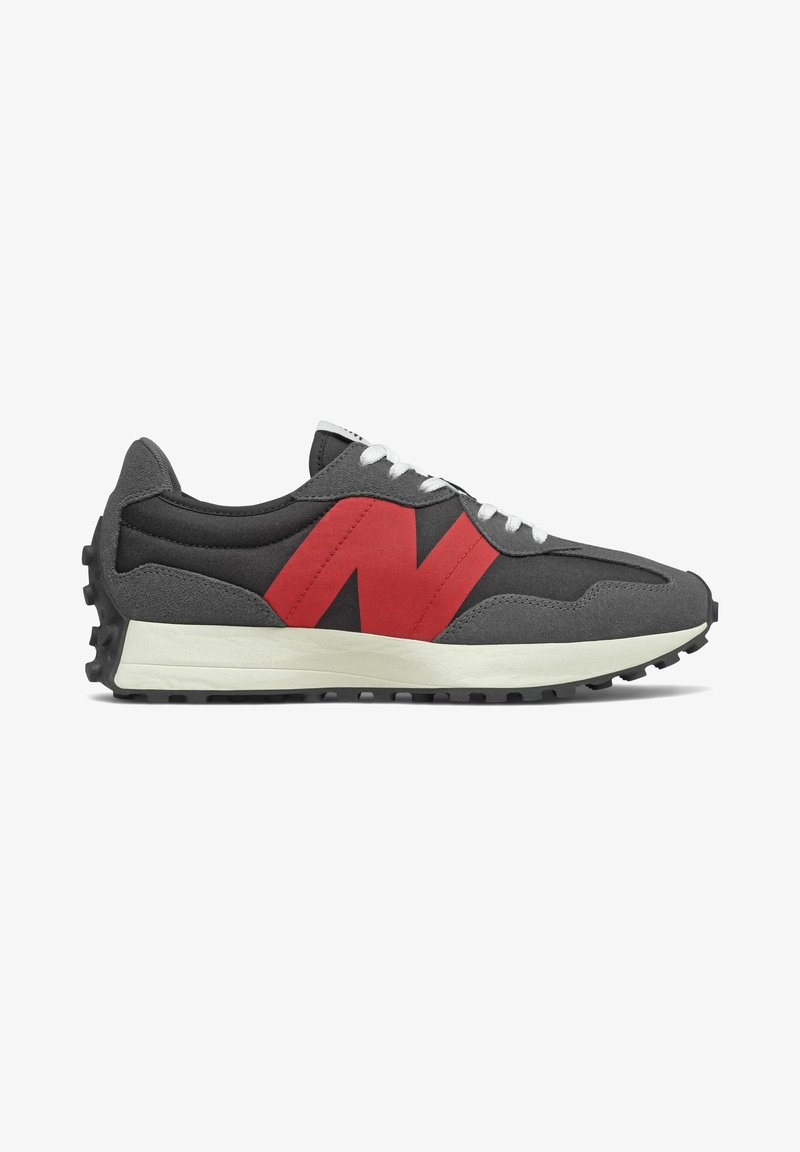 New Balance - 327 - Trainers - black/red