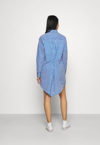 River Island - DAYNA ADJUST DRESS - Shirt dress - blue - 2
