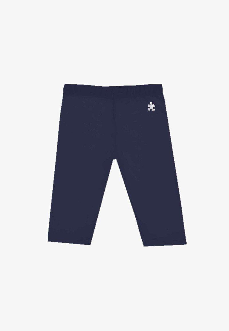 UBS2 - CON LOGO - Leggings - Trousers - azul marino