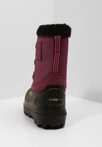 Viking - ISTIND - Zimní obuv - dark pink/black - 4