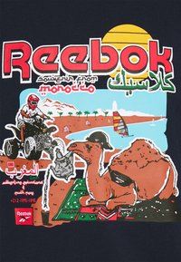 Reebok Classic - SOUVENIR TEE - Camiseta estampada - vector navy - 2