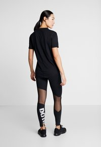 Nike Performance - PEED - Punčochy - black/white - 2