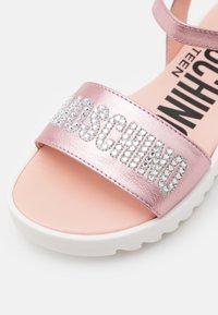 MOSCHINO - Sandals - light pink - 5