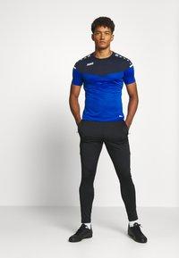 JAKO - CHAMP - Print T-shirt - royal/marine - 1