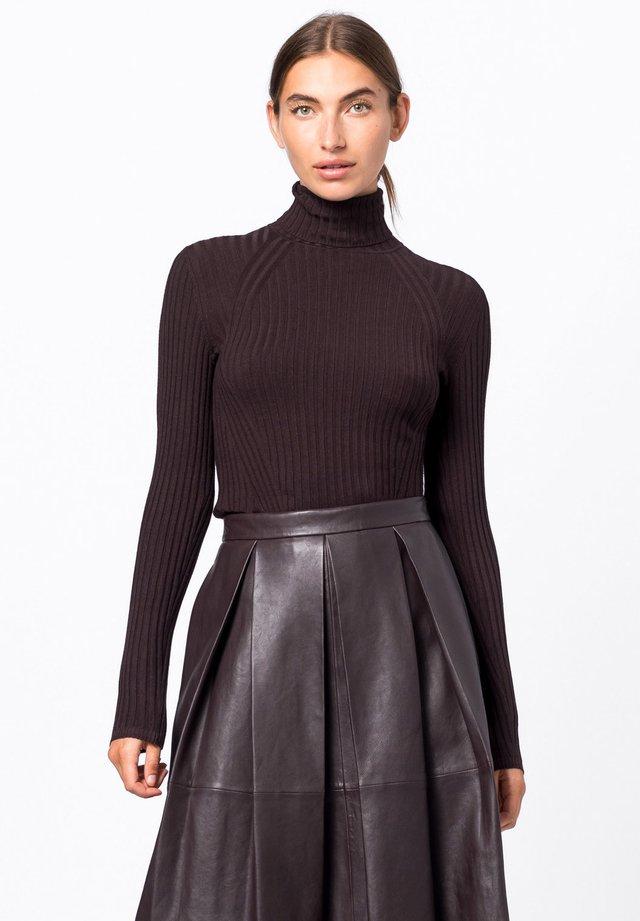 Pullover - aubergine