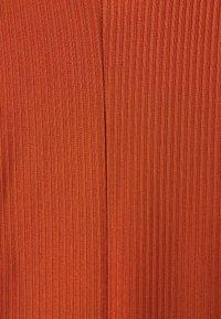 Closet - HIGH NECK A LINE DRESS - Day dress - rust - 2