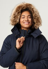 Zizzi - Winter coat - dark blue - 3