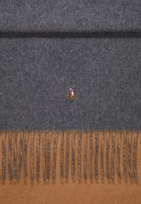 Polo Ralph Lauren - SIGN SCARF - Schal - grey/camel - 2