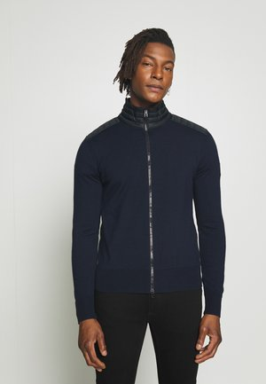 KELBY ZIP - Gilet - washed navy