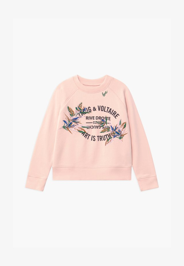 Sweater - pale pink