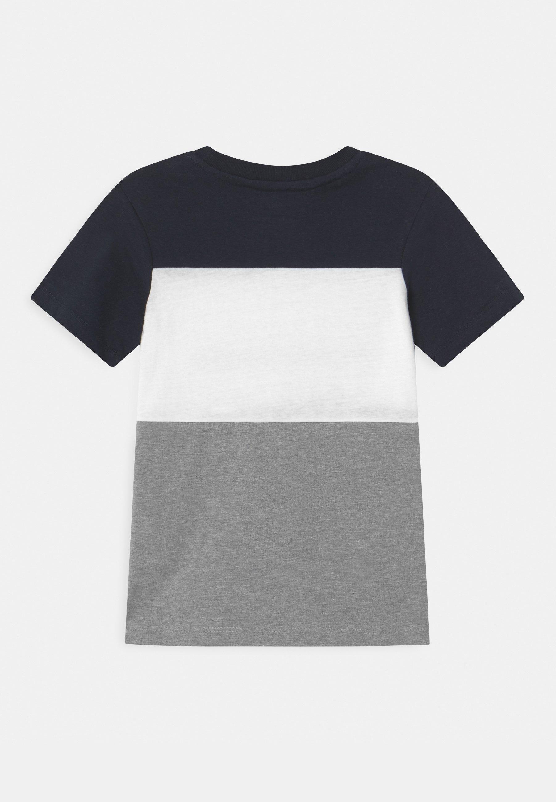 Bambini JJELOGO BLOCKING TEE - T-shirt con stampa