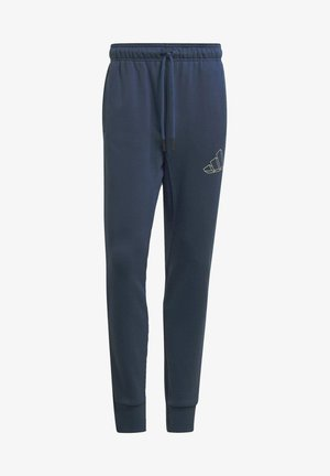 FI GRAPHIC PT BD MUST HAVES SPORTS REGULAR PANTS - Spodnie treningowe - blue