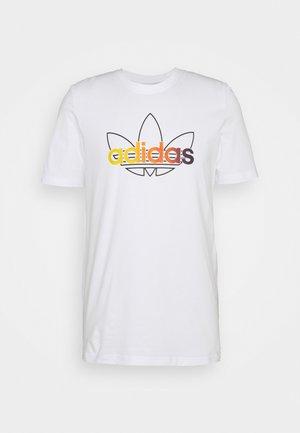 GRAPHIC UNISEX - Print T-shirt - white/multicolor