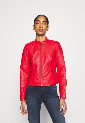 VMLOVE SHORT COATED JACKET - Faux leather jacket - goji berry