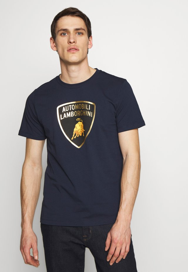 BIG LOGO  - Print T-shirt - prussian blue