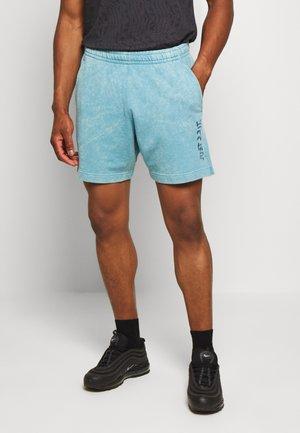 WASH - Teplákové kalhoty - cerulean