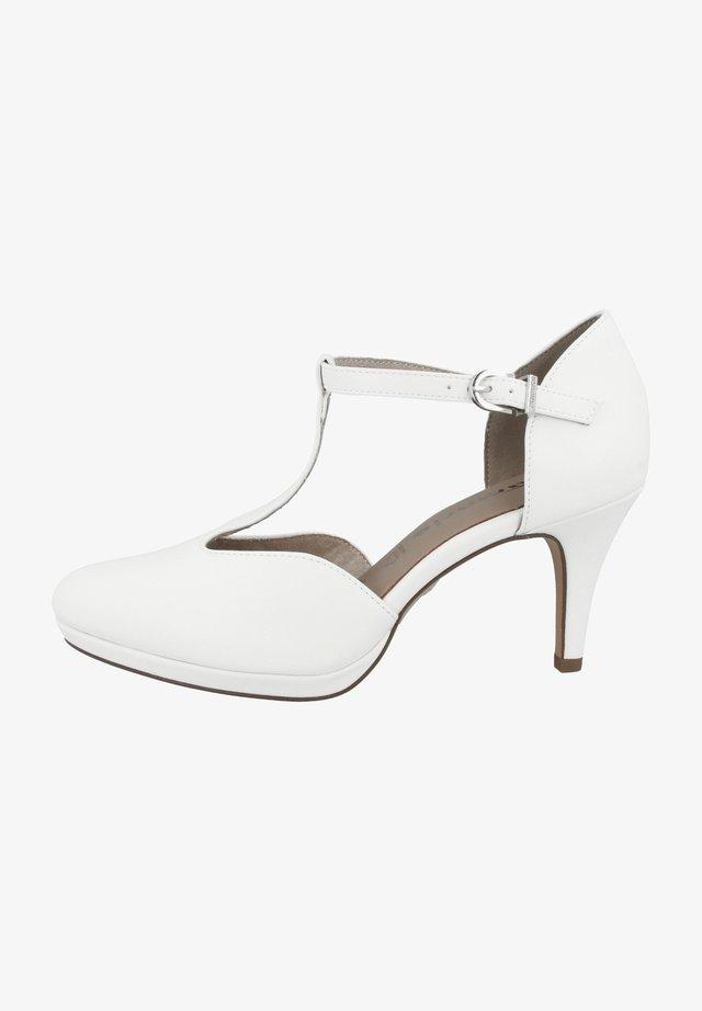 Chaussures de mariée - white matt
